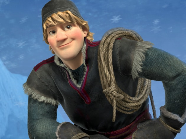 Kristoff is a true outdoorsman. He lives high up in the mountains where he harvests ice and sells...