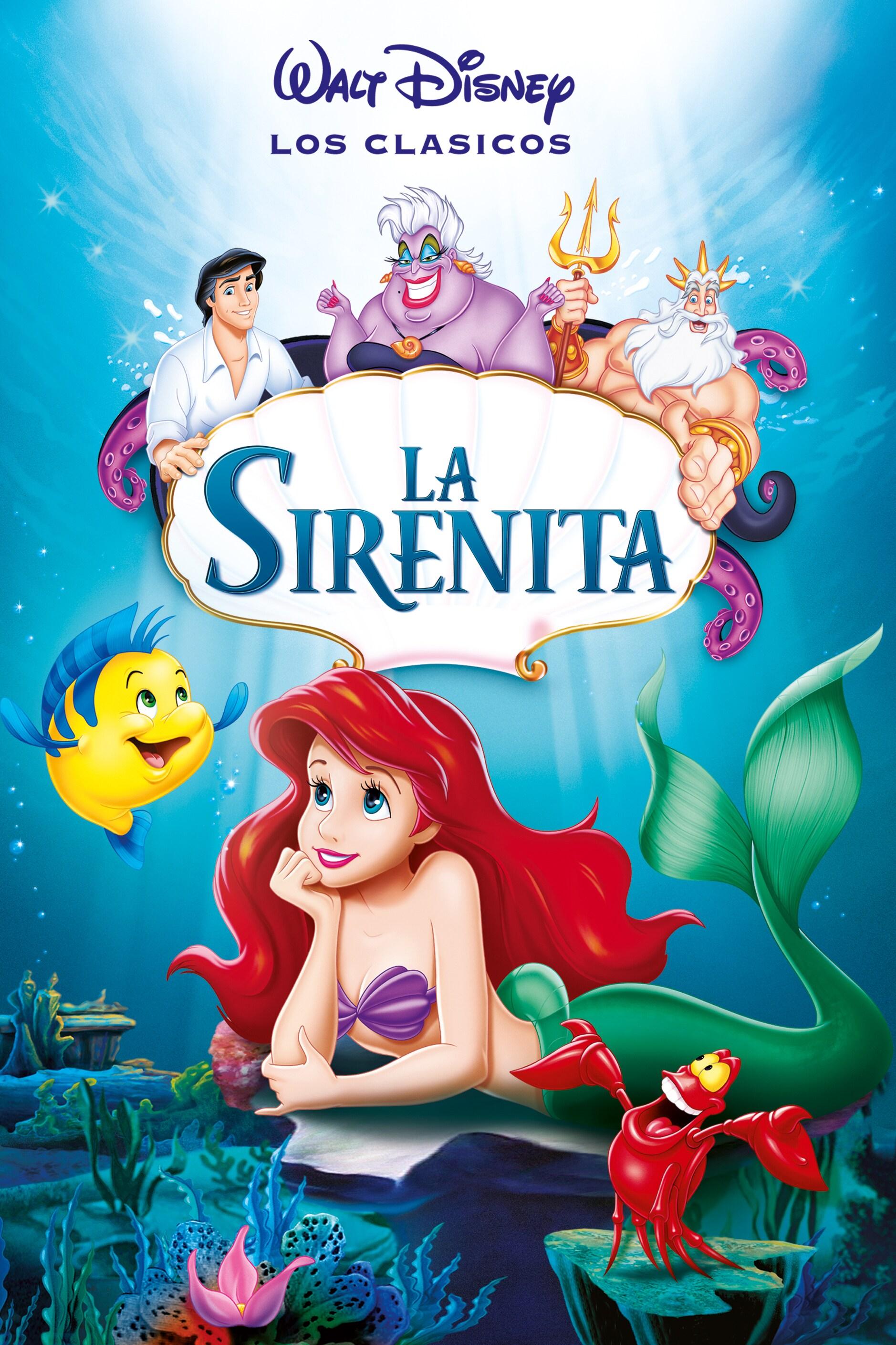 póster de La sirenita