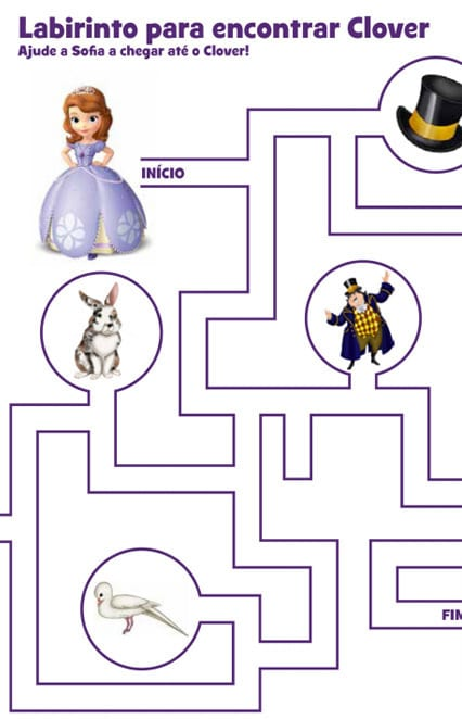 Atividade - Labirinto para encontrar Clover