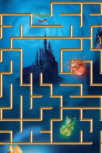 Labyrinthe Sauve la Princesse Aurore