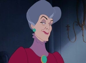 "Lady Tremaine in the animated movie ""Cinderella"""
