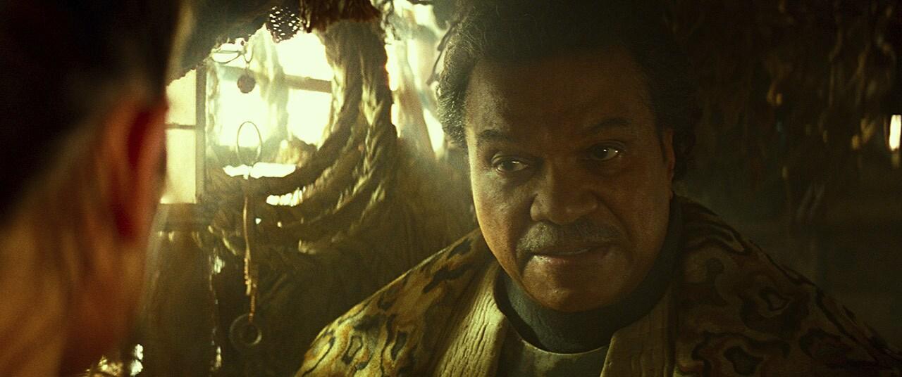 Lando Calrissian on Pasaana