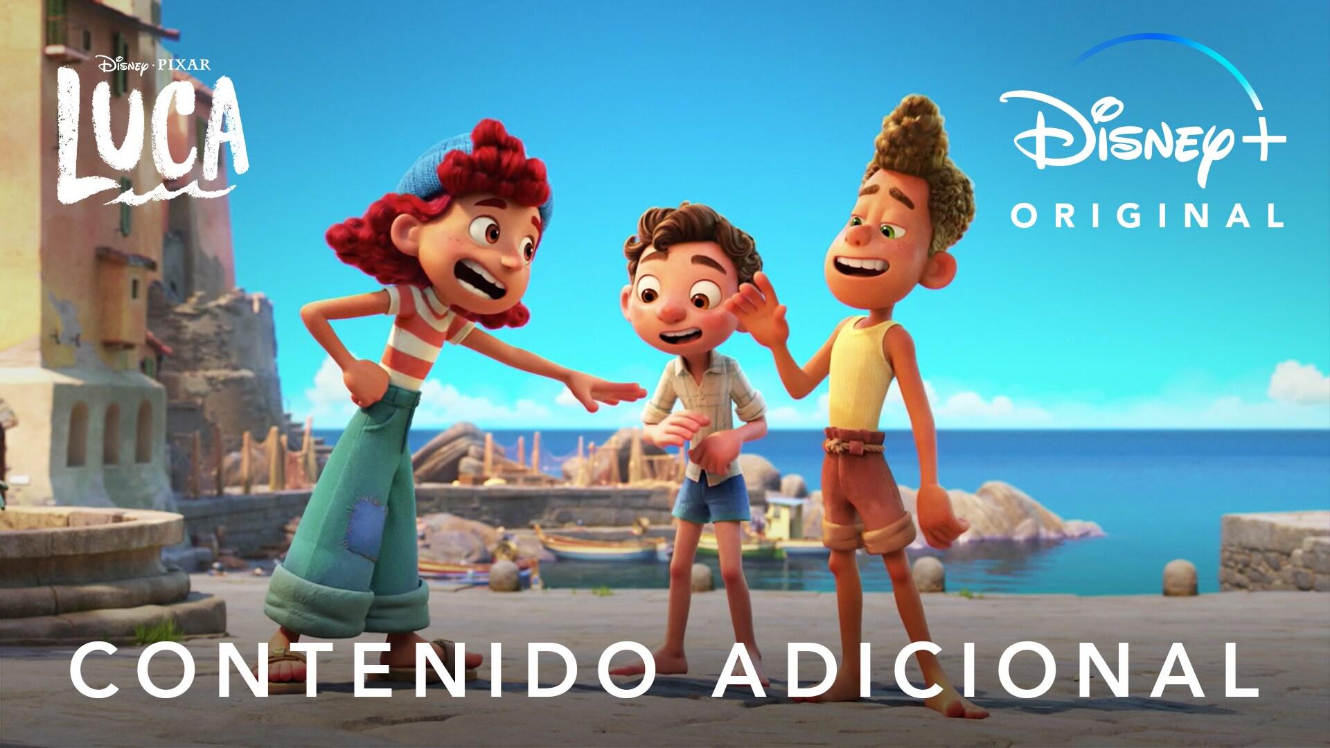 LUCA | Descubre más sobre la película que ya está disponible en Disney+