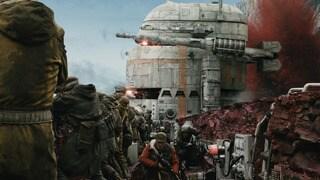 Crait Rebel base