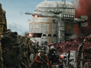 Crait Rebel base