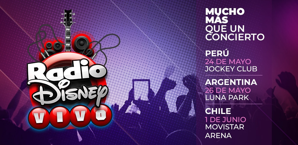 Radio Disney 94.3 Argentina | AMP Mobile Radio