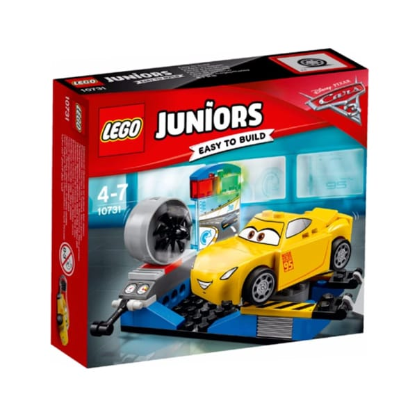 LEGO Disney Cars 3 Juniors - Cruz Ramirez Race Simulator