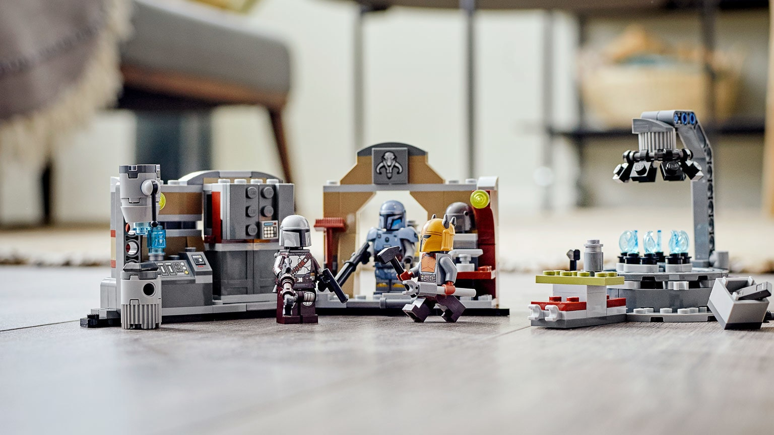 Create The Armorer's Mandalorian Forge in LEGO Brick - Exclusive Reveal