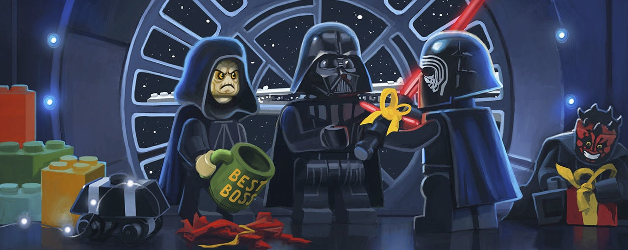 LEGO Star Wars Holiday Special Concept Art