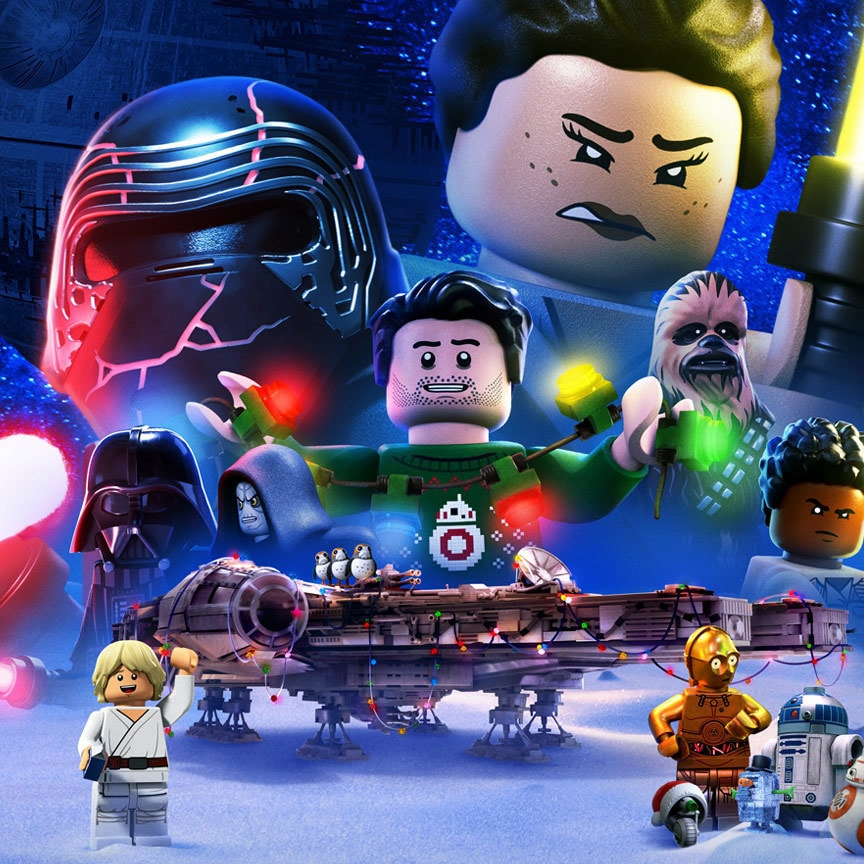 LEGO Star Wars Holiday Special key art
