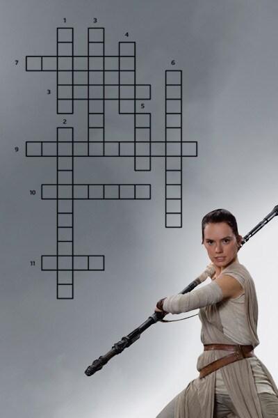 Les mots mêlés Star Wars