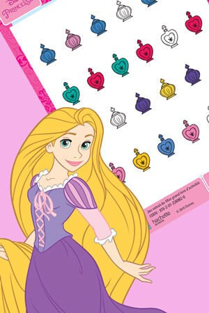 Les flacons des Princesses Disney