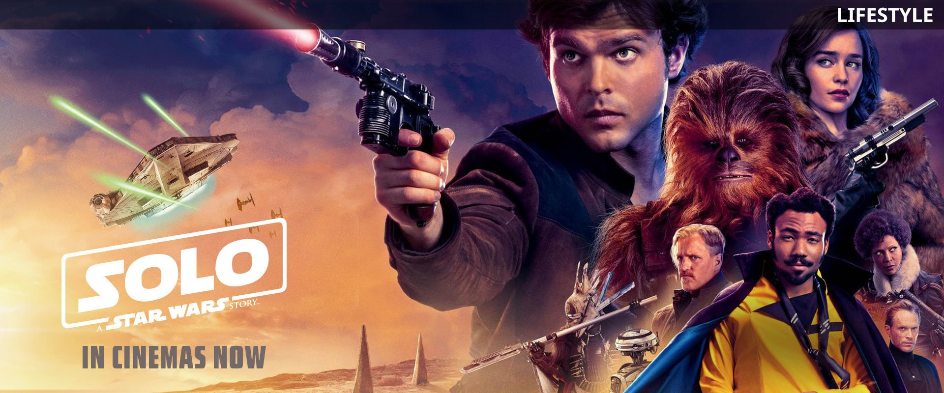 Solo: A Star Wars Story | Star Wars | Lifestyle | Homepage | Movies