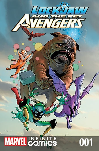 Lockjaw and the Pet Avengers #01
