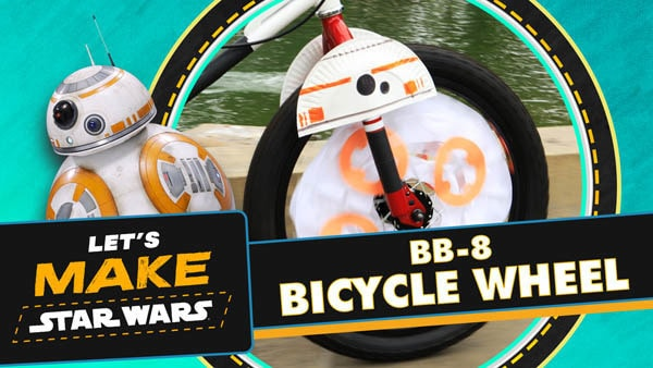 Let's Make Star Wars - BB-8 Bicycle Wheel