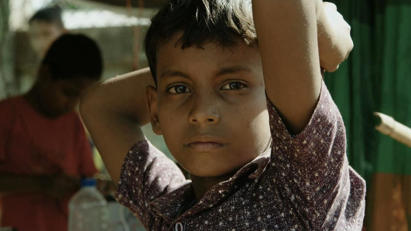 A boy in the Kutupalong Refugee Camp in Bangladesh (Photo by Nobel Media/Franklin Dow)
