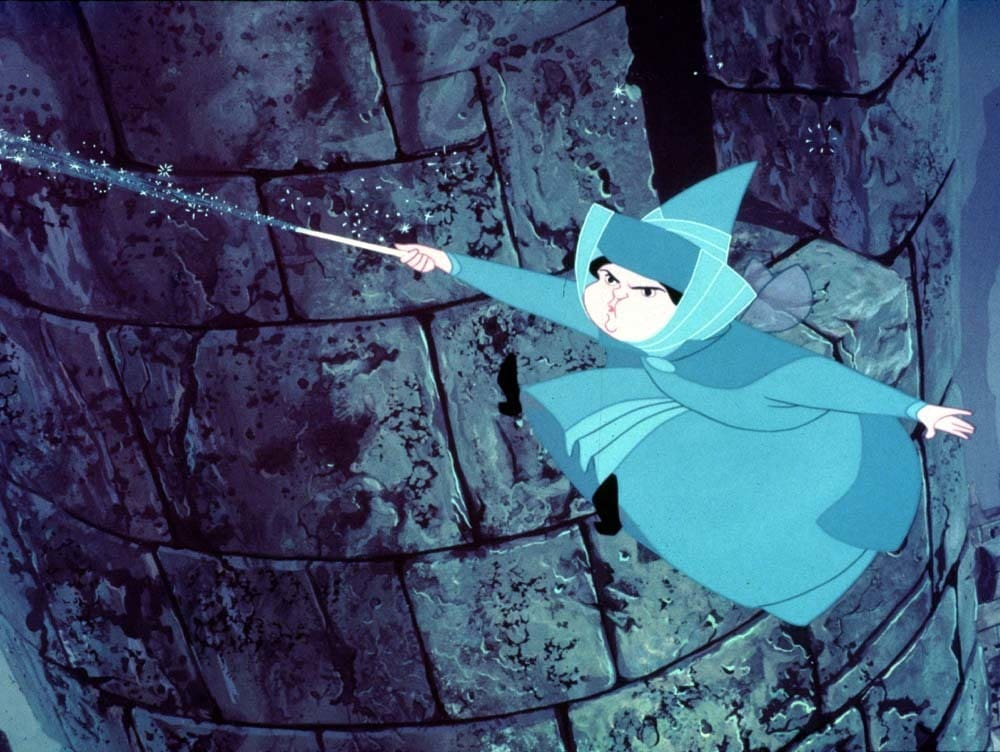 "Merryweather from the animated movie ""Sleeping Beauty"""