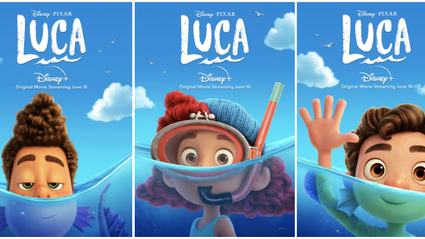 """Disney And Pixar's """"Luca"""" Streams On Disney+ Beginning June 18  All-New Clip Reveals What Humans Really Think About Sea Monsters"""