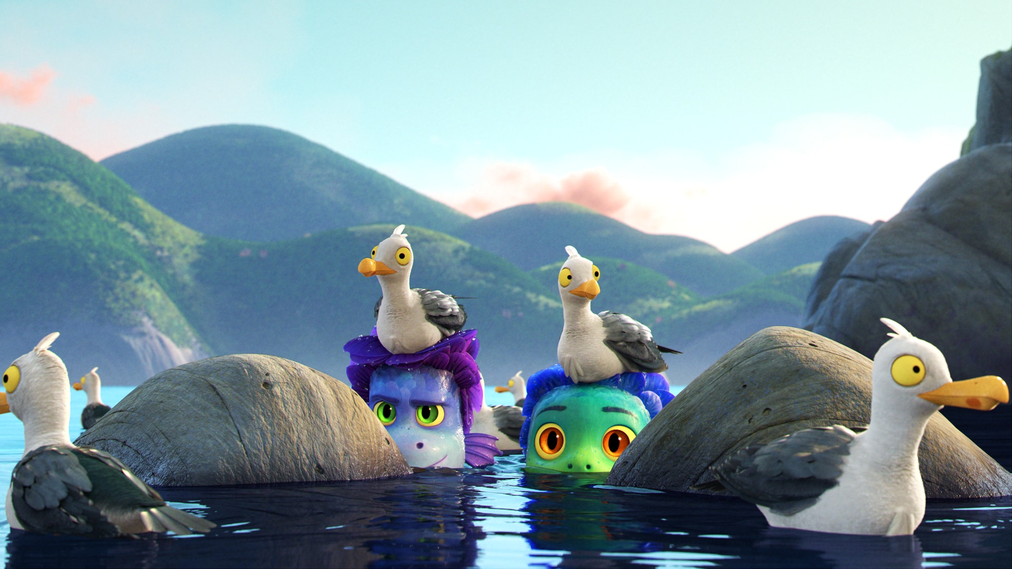 The Animation and Effects Behind Pixar's Luca, Now Streaming