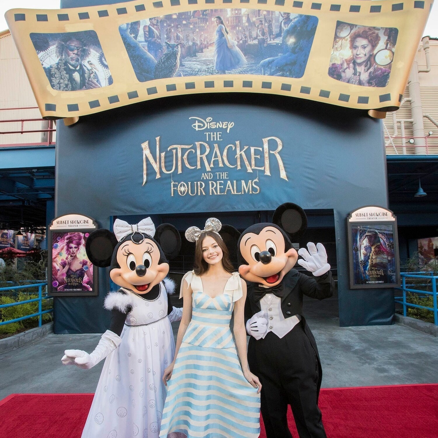 The Nutcracker and The Four Realms' Mackenzie Foy Surprised Annual Passholders at the Disneyland Resort and We Can't Wait For This Movie