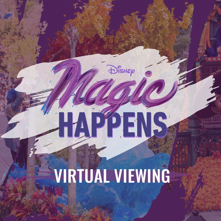 "Watch Disneyland's All-New ""Magic Happens"" Parade"