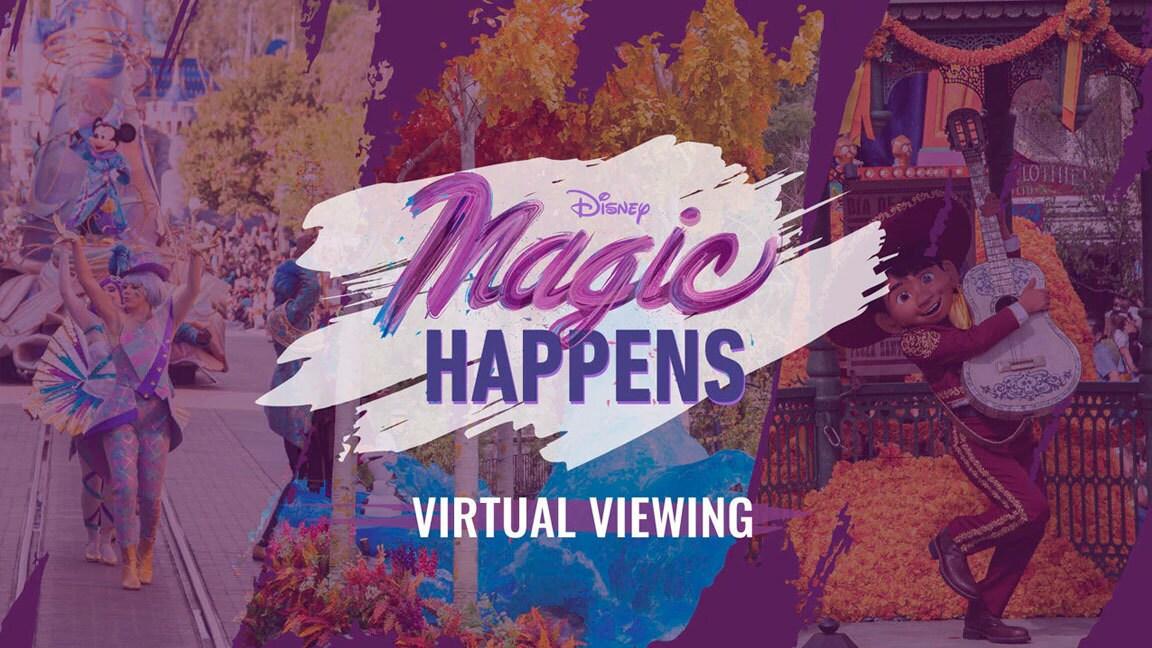 """Assista ao novíssimo desfile """"Magic Happens"""" do Disneyland Resort"""