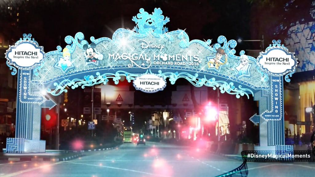 Disney Magical Moments in Orchard Road