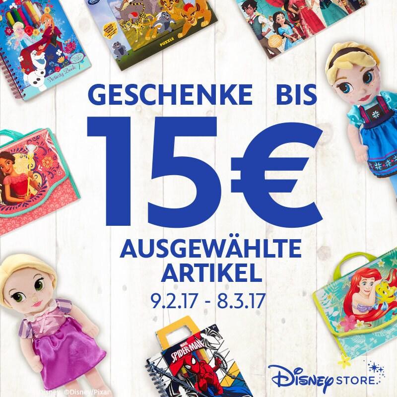 15 € Geschenk im Disney Store