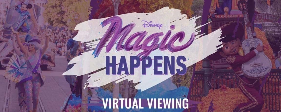 "Mira el novedoso desfile de Disneyland Resort ""Magic Happens"""