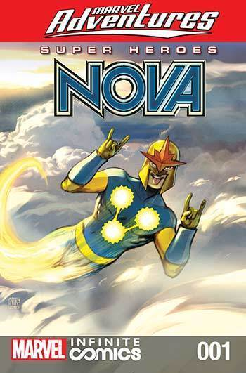 Marvel Heroes: Nova & Black Widow #01