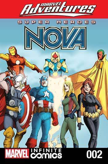 Marvel Heroes: Nova & Black Widow #02
