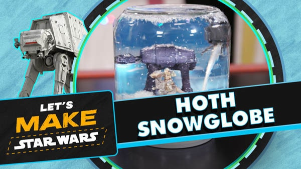 Let's Make Star Wars - Hoth Snowglobe