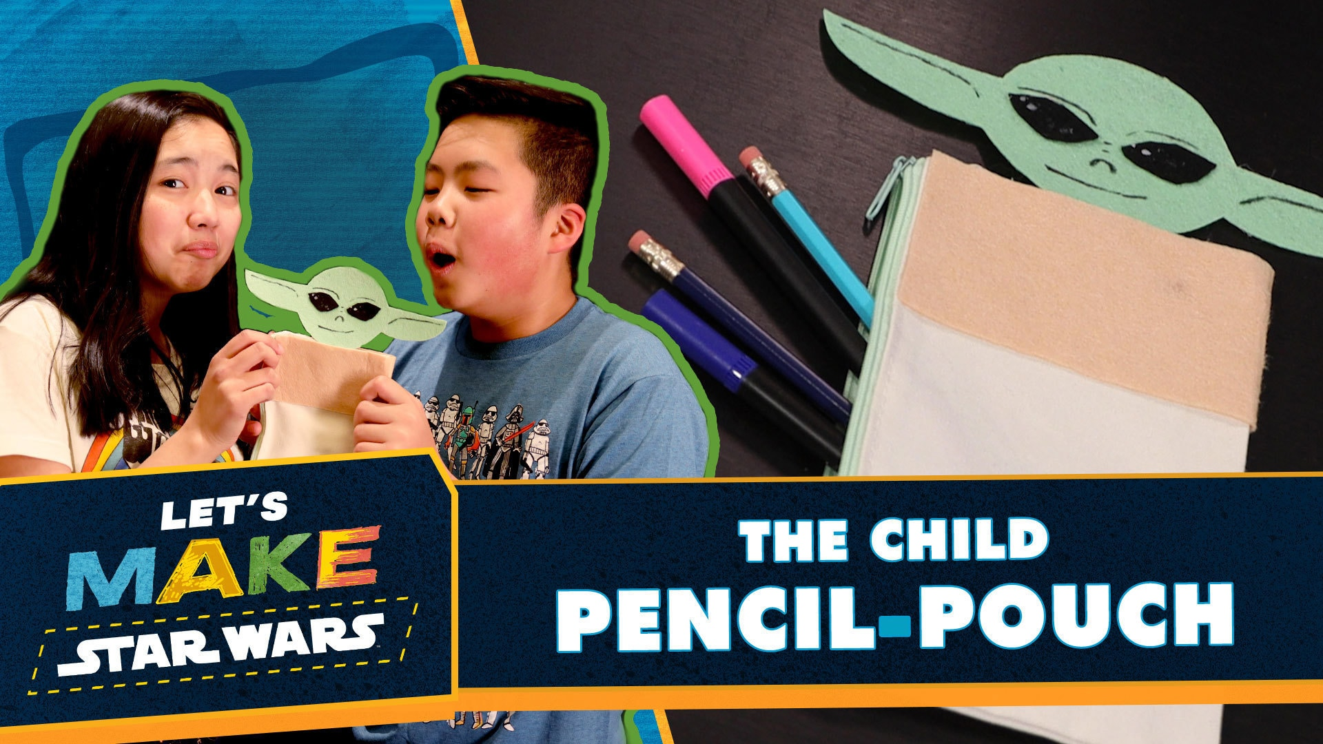 Let's Make Star Wars - How to Make The Child Pencil Pouch