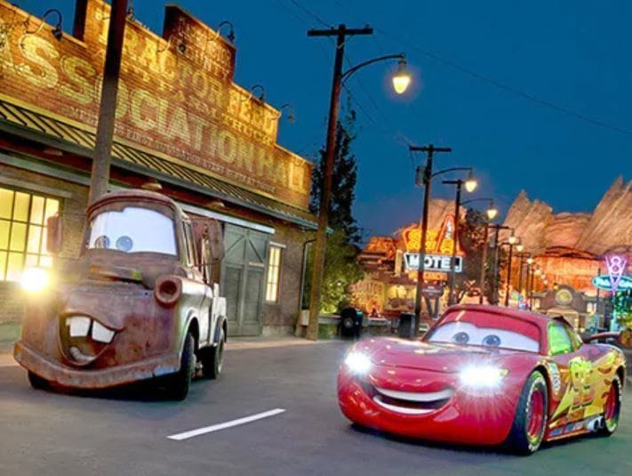 Take a Ride Through the Making of Cars Land