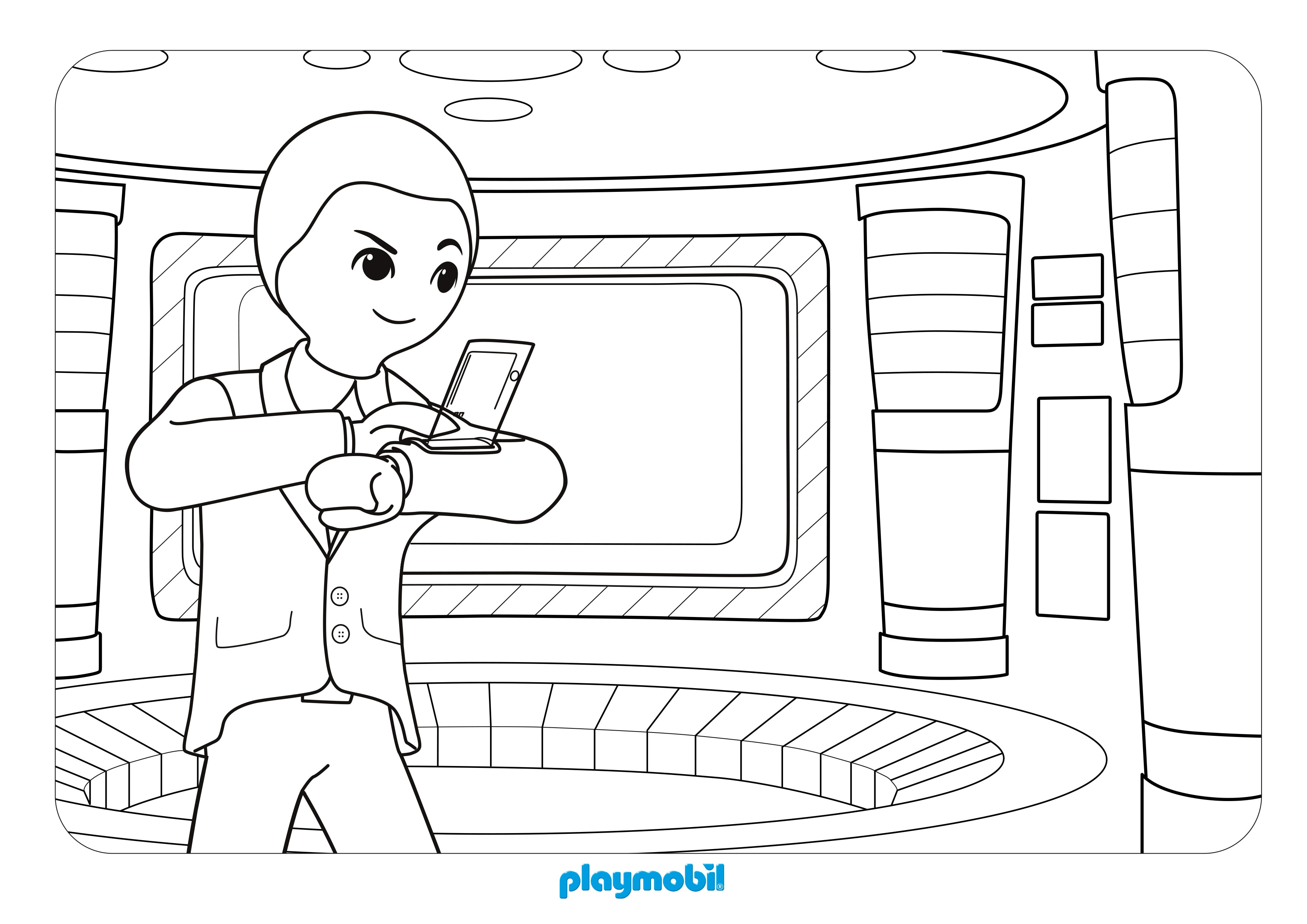 10 Playmobil Super 4 Ausmalbilder