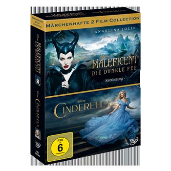 Maleficent-Cinderella Doppelpack DVD