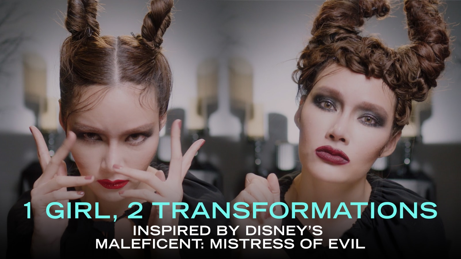 1 Girl, 2 Transformations Inspired By Disney's Maleficent: Mistress Of Evil