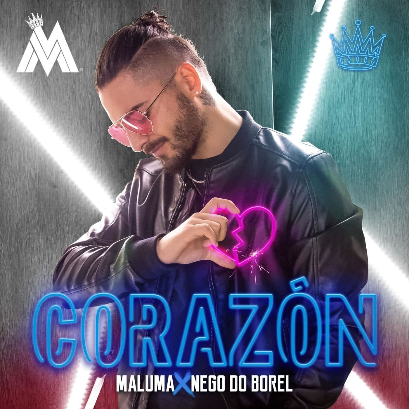2. Corazón - Maluma ft. Nego do Borel