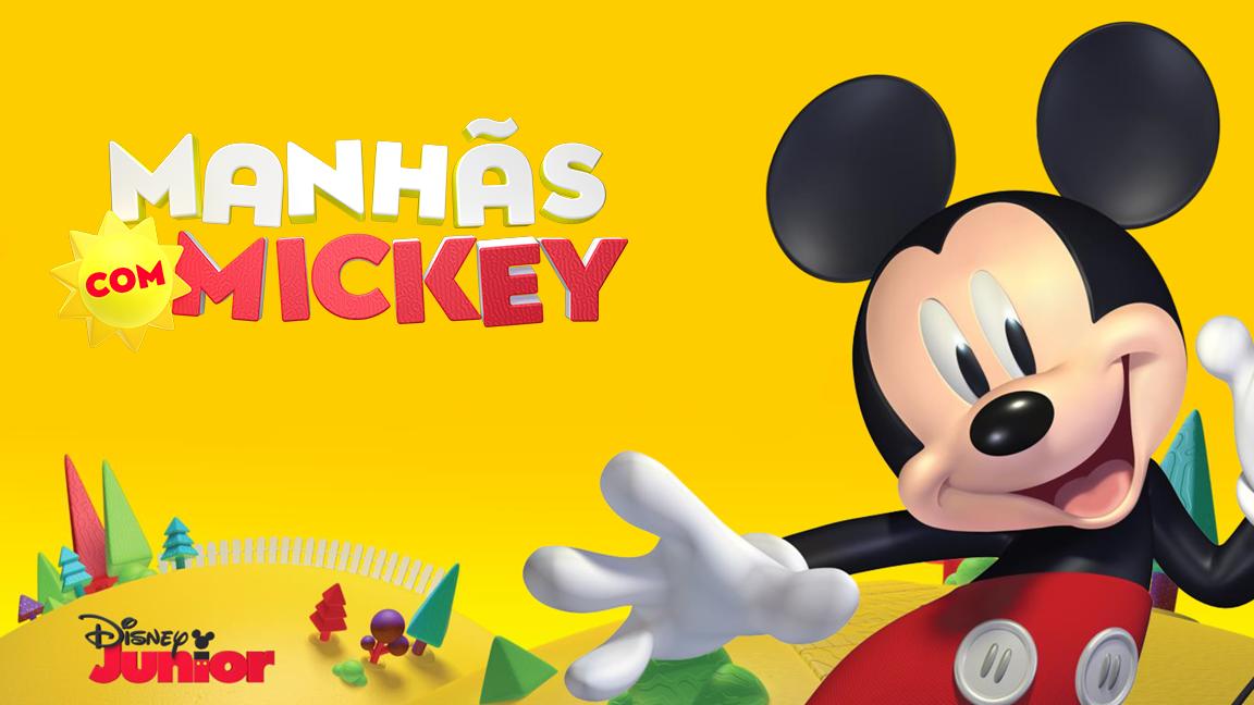 """Atividades para você se divertir todas as """"Manhãs com Mickey"""""""