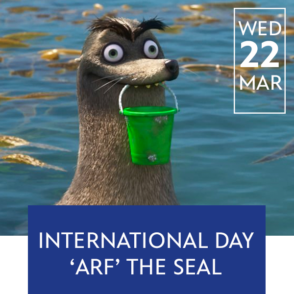 Stream Promo - March 22 International Seal Day