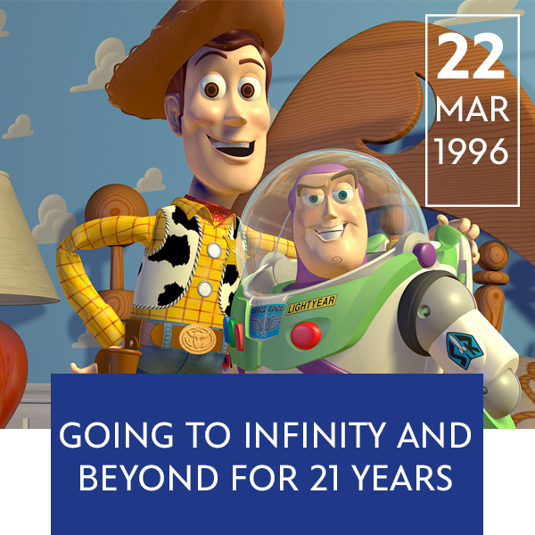 Stream Promo - March 22 Toy Story Anniversary