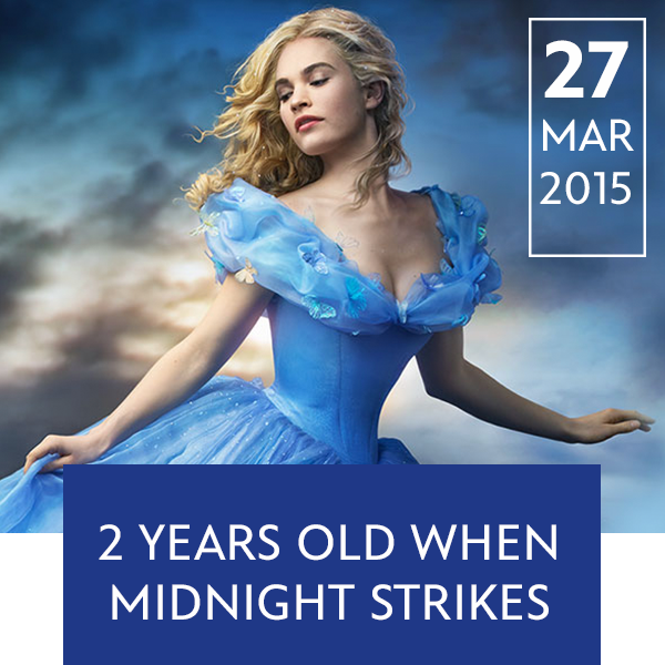Stream Promo - March 27 Cinderella 2015