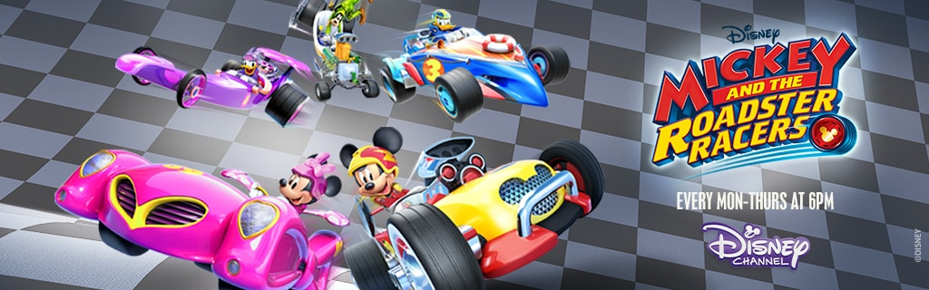 Mickey and the Roadster Racers Starts 15th May