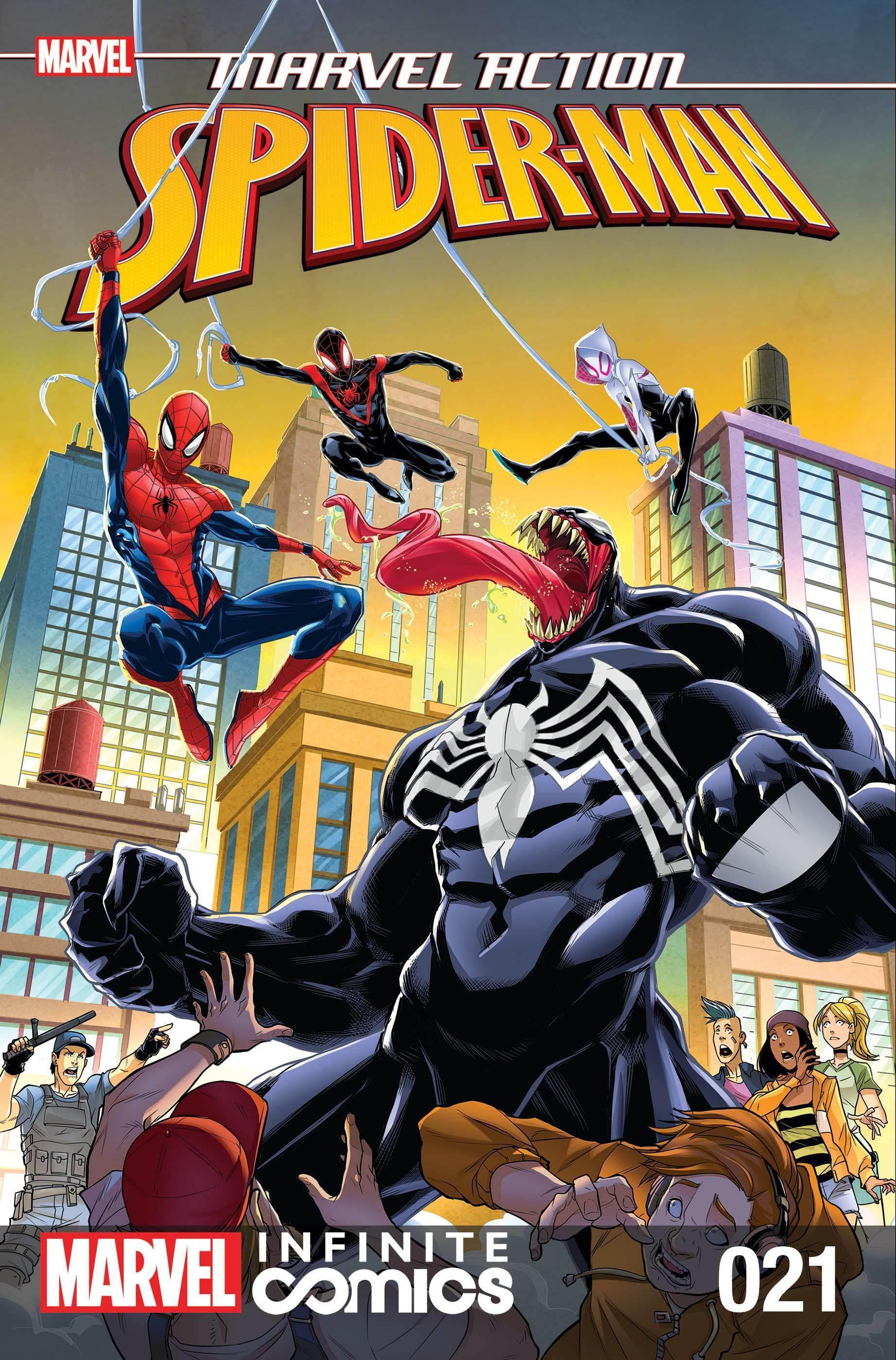 Marvel Action Spider-Man #21