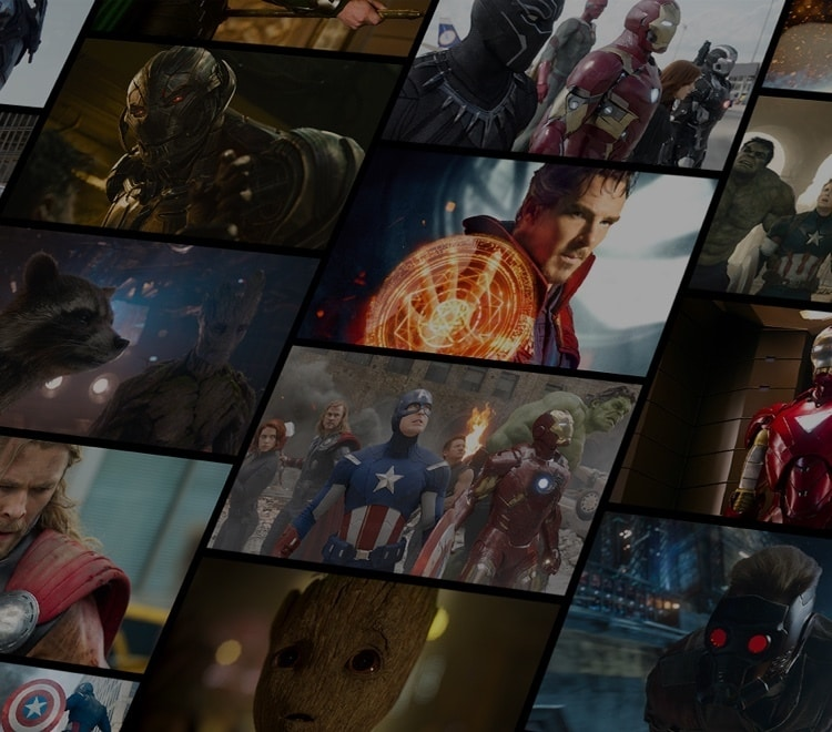 Avengers Infinity War - Discover Ten Years of the Marvel