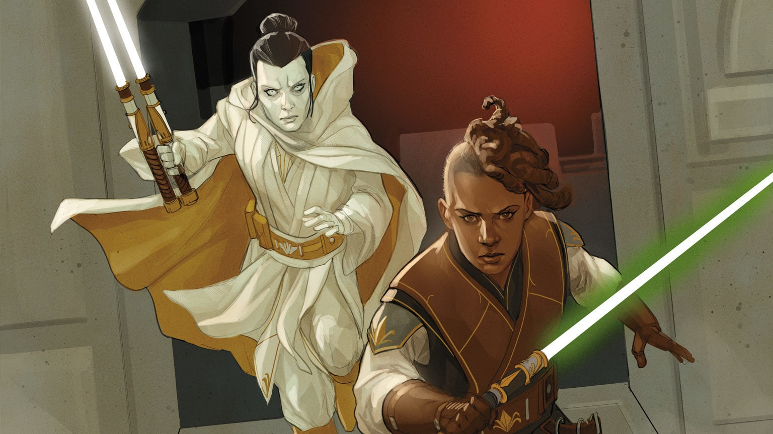 Jedi and Hutt Take on the Drengir in Marvel's Star Wars: The High Republic #8 – Exclusive Preview