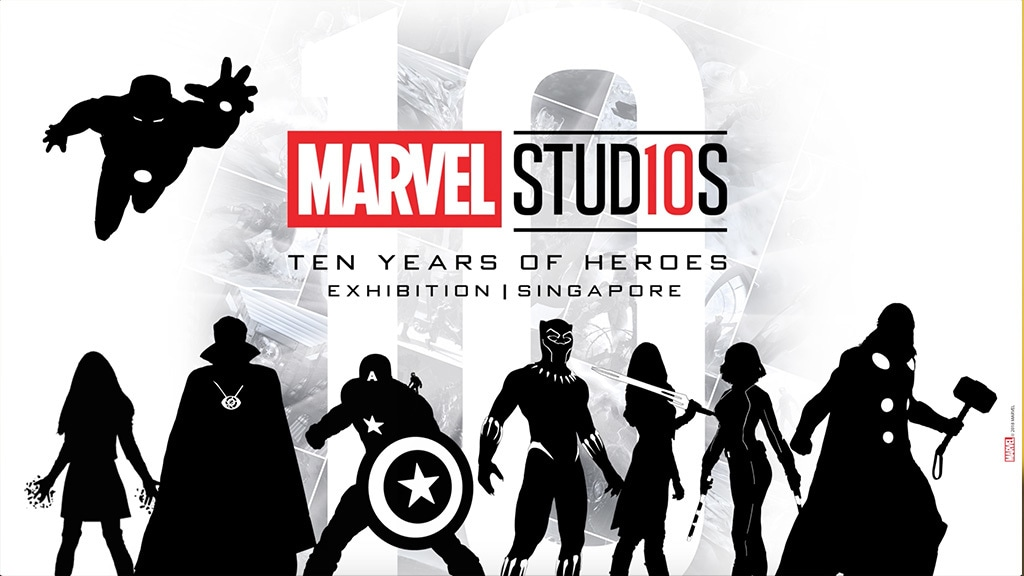 Disney Insider: Marvel Studios: Ten Years of Heroes Exhibition