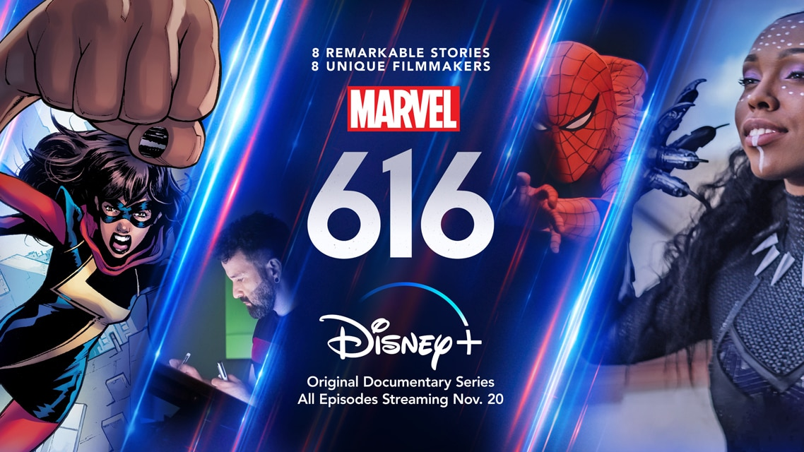 Marvel's 616 Key Art - Horizontal