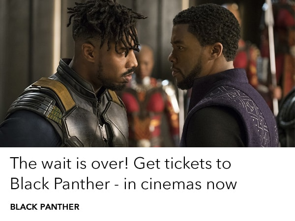 Black Panther - Trending - Get Tickets - Homepage AU