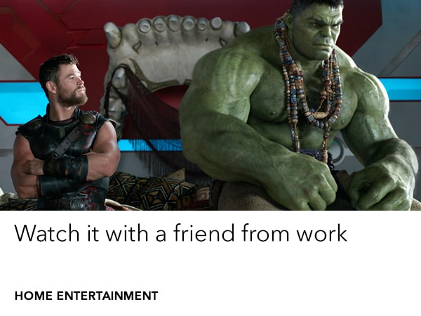 Thor Ragnarok on Digital from Feb 20